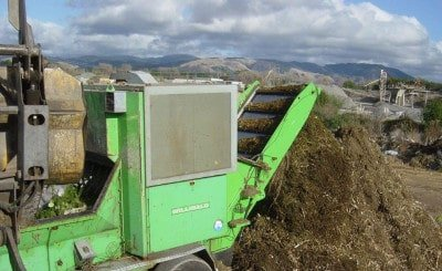 Composting New Zealand compost making machinery